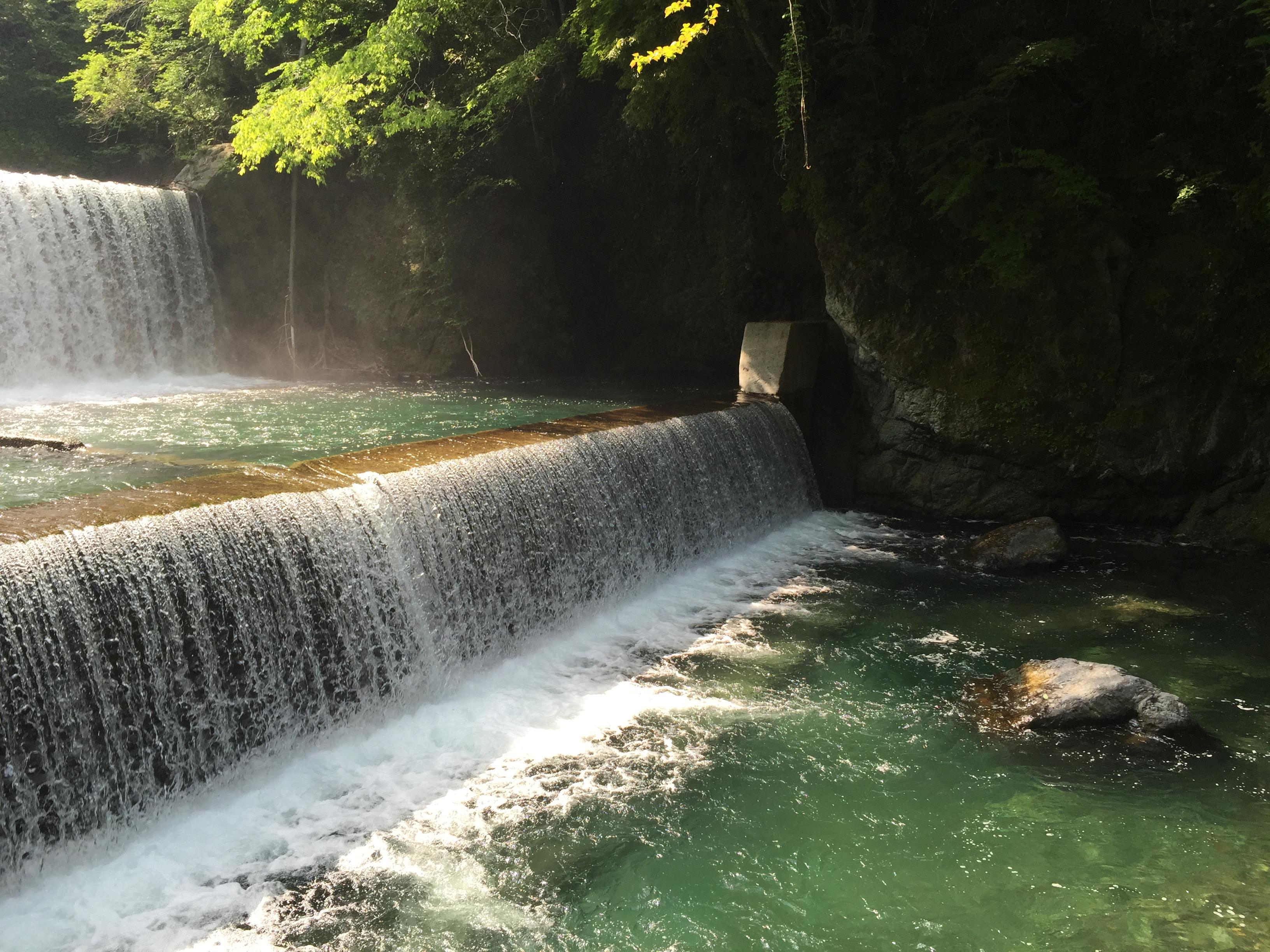 Rocky waterfall aka A weir
