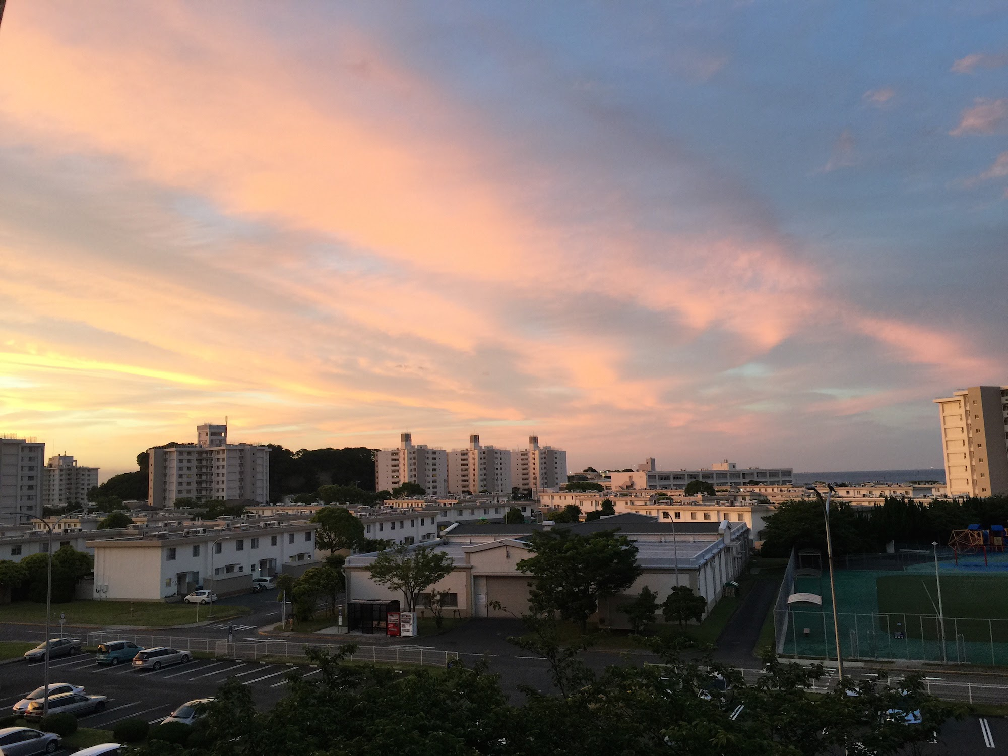 Yokosuka sunset