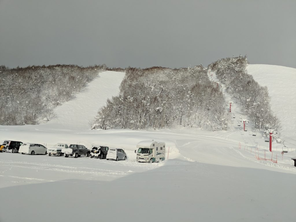 Horotachi is a small local resort with only one lift - and some fun albeit short runs