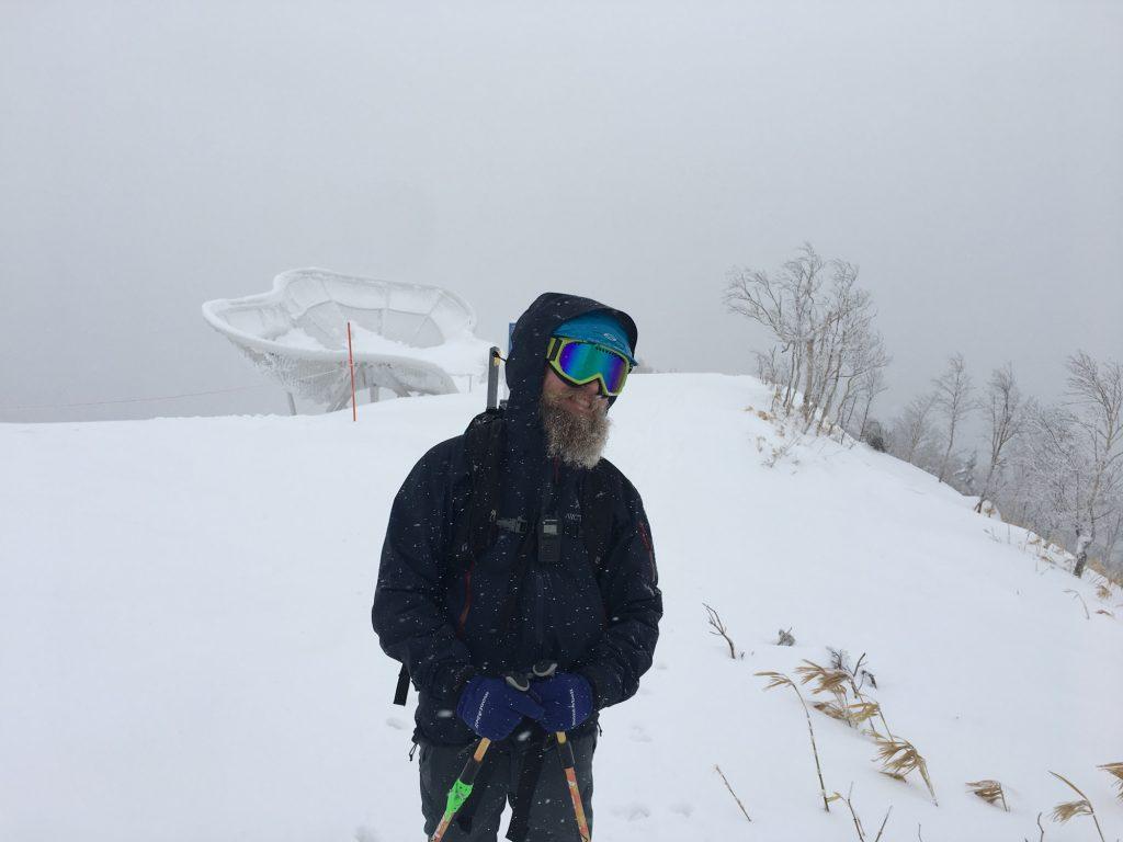 Snow yeti!