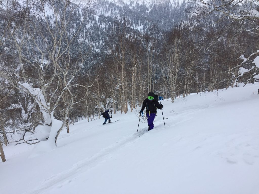 Earning our turns