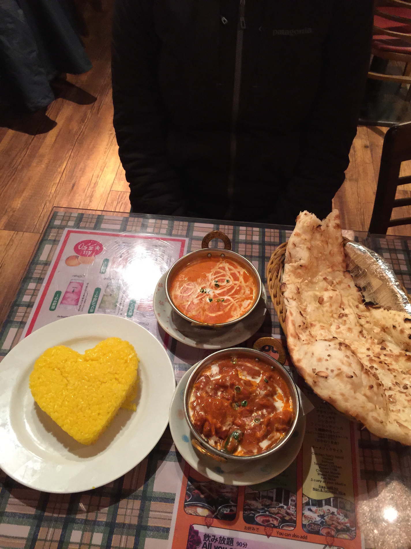 Indian food is amazing in Japan