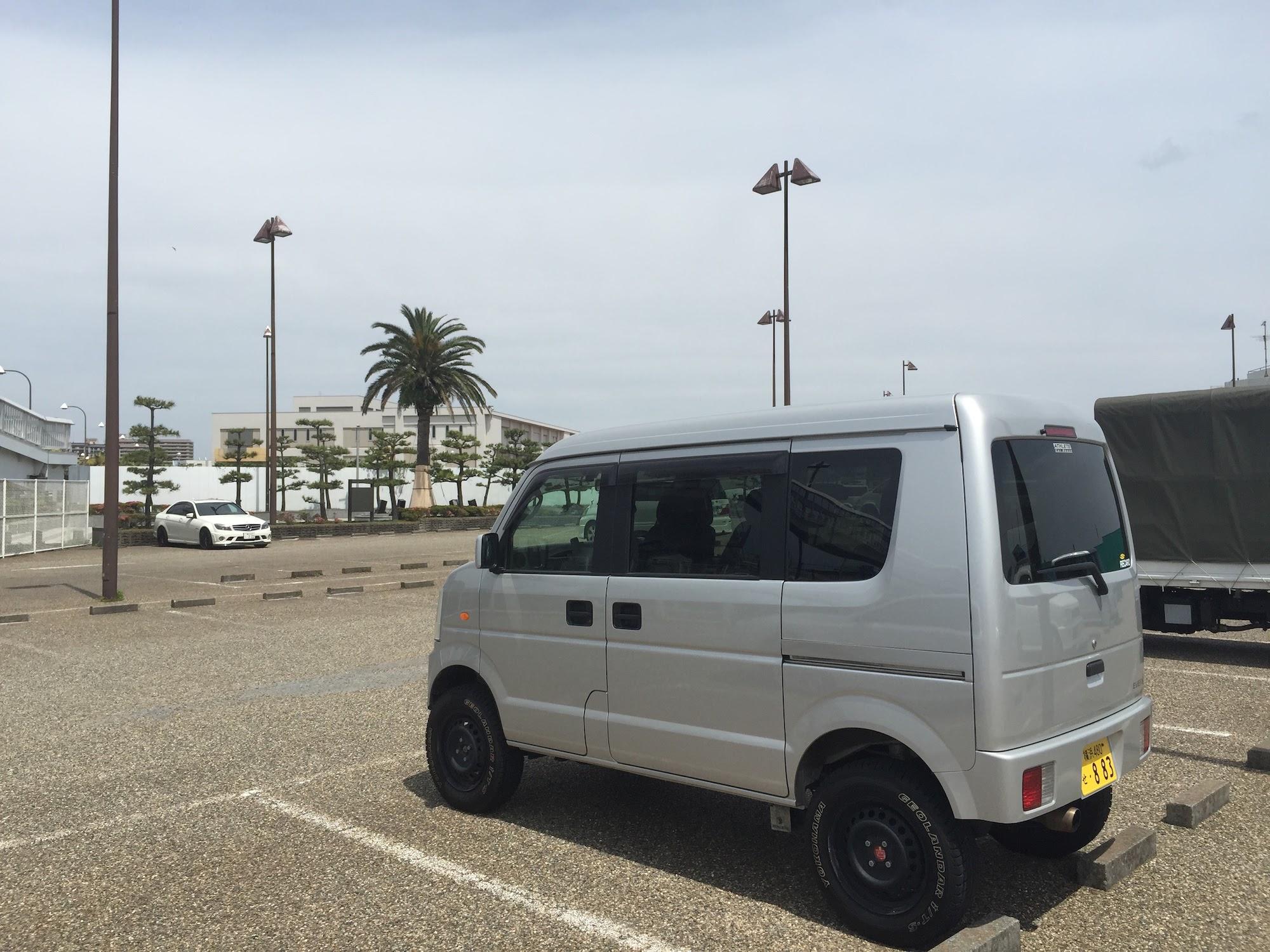 Off road kei van