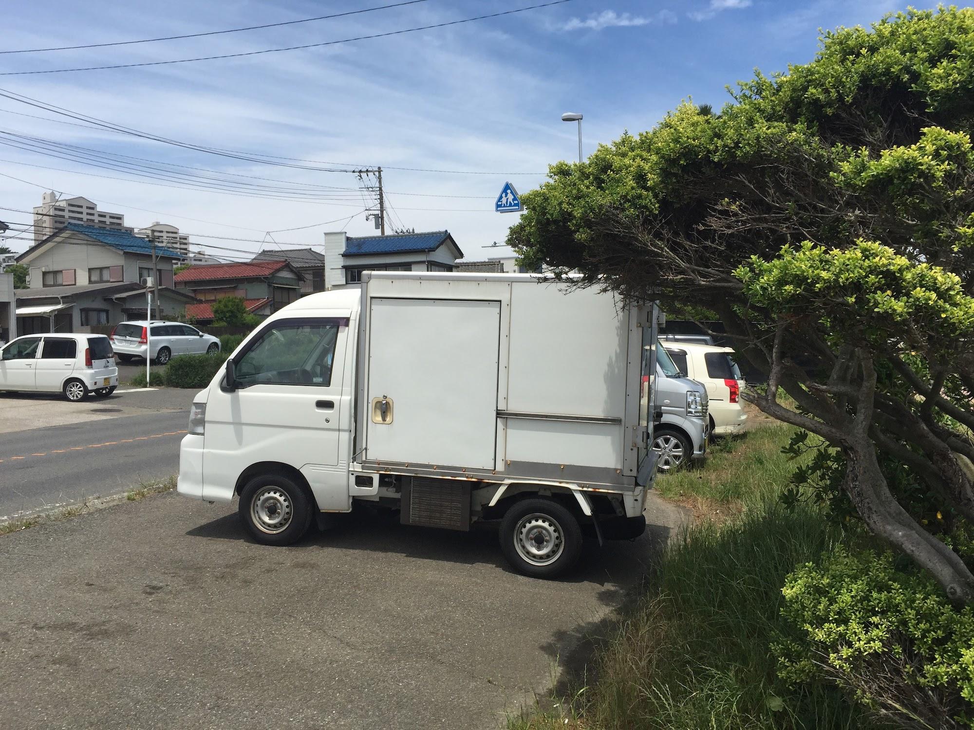 Utility kei truck