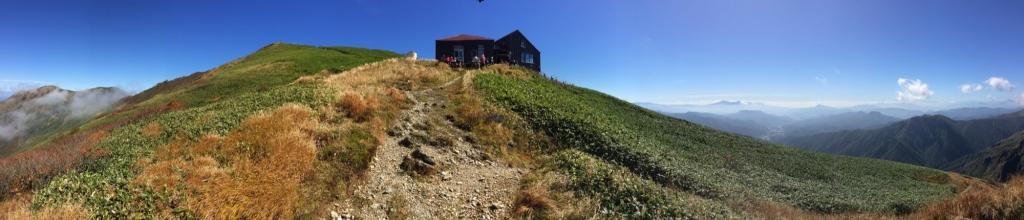 Katanokoya Hut panorama