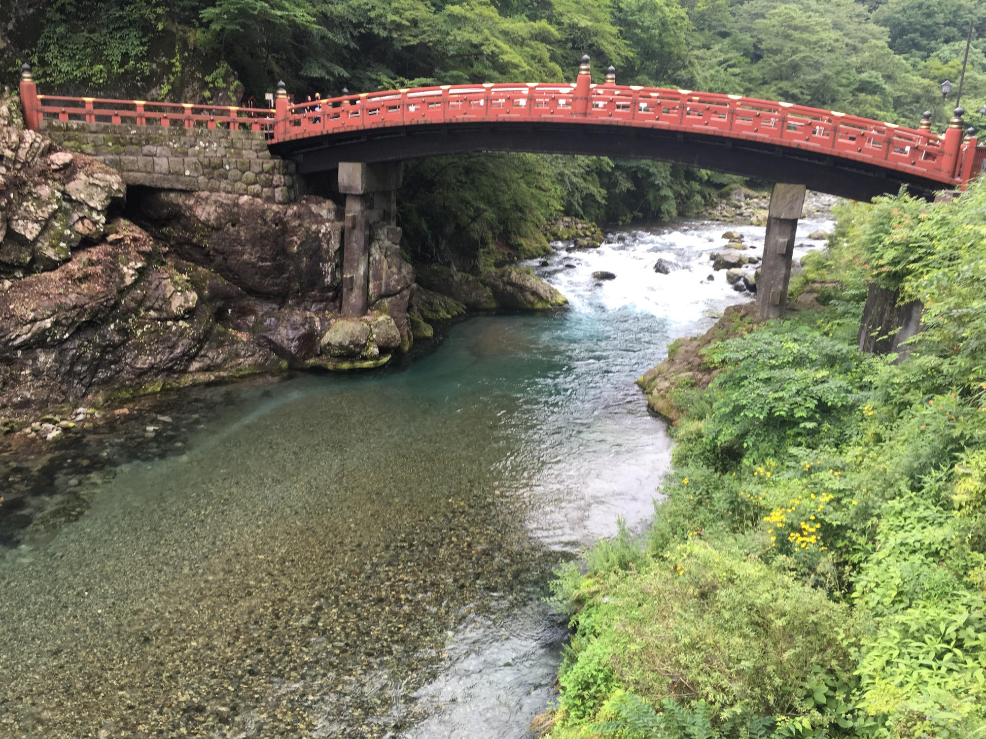Bridge in the heart of Nikko