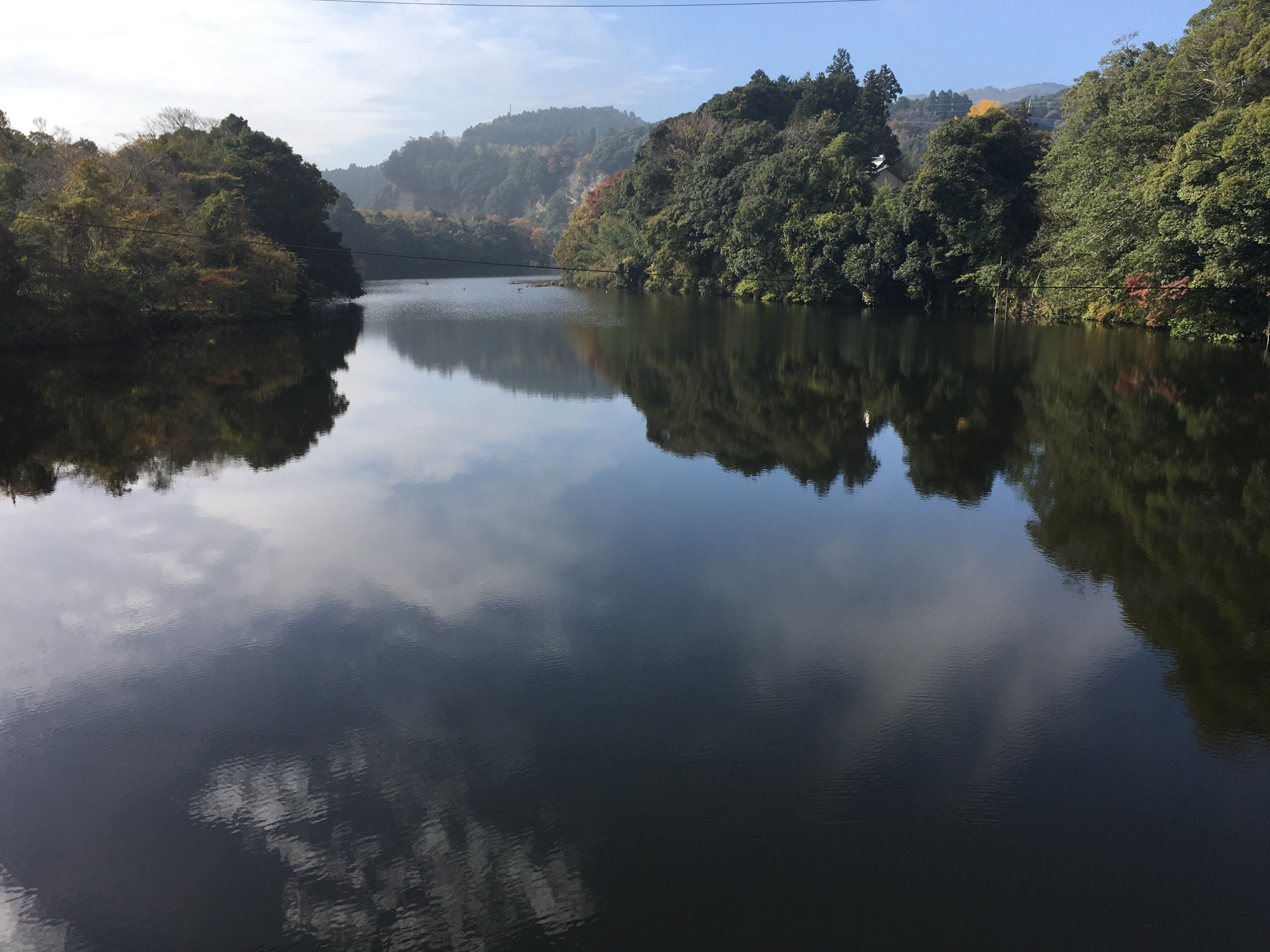 A lovely lake in Chiba Prefecture