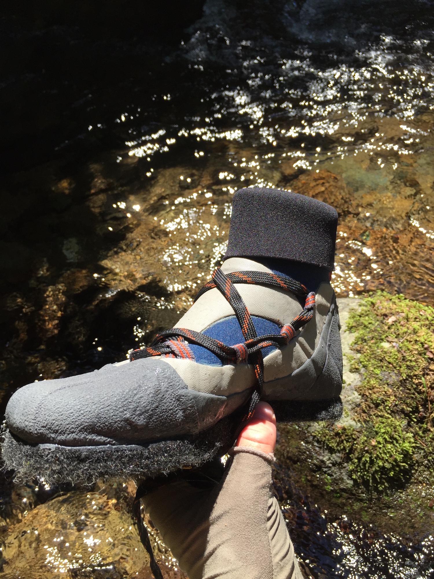 Montbell sawanobori shoes